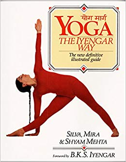 Yoga The Iyengar Way - book cover