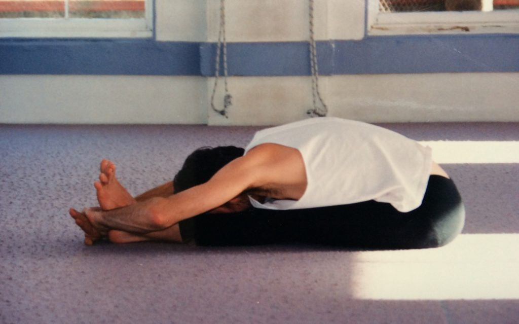 Mark - Paschimottanasana